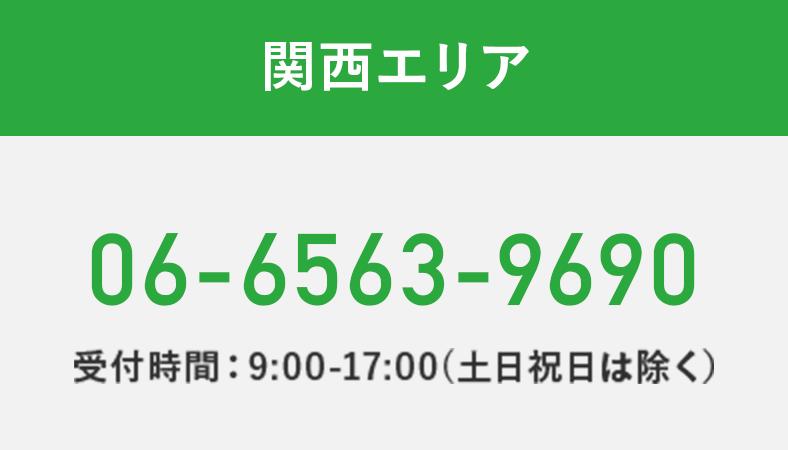 関西エリア:06-6563-9690