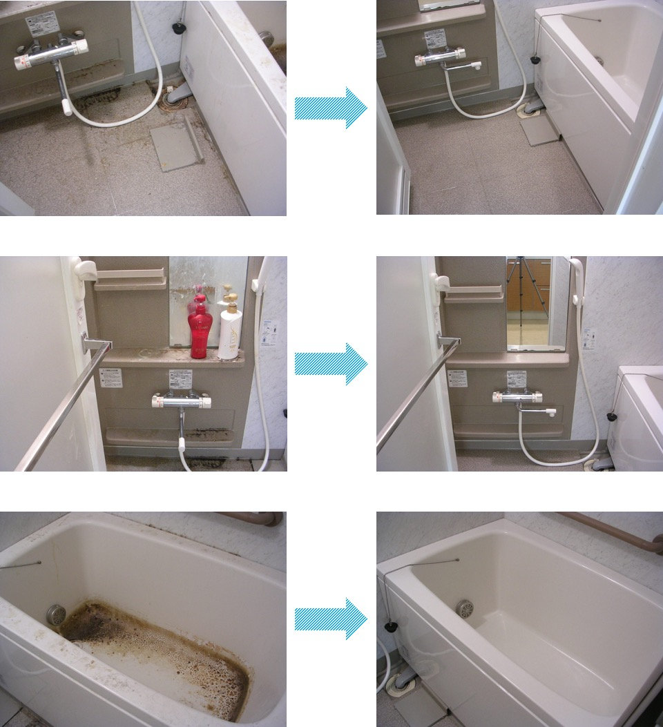 プロ直伝 頑固なカビをごっそり撃退するお風呂掃除の8つの手順